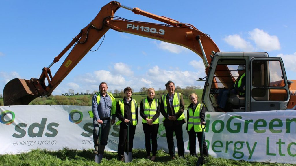Ground breaking activity in Biogas in Northern Ireland